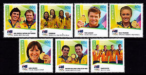 2012 London Olympic Games - Australian Gold Medallists MUH Complete Set