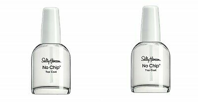 2 Sally Hansen No Chip Acrylic Top Coat (2246) 0.45 fl oz ea New ()