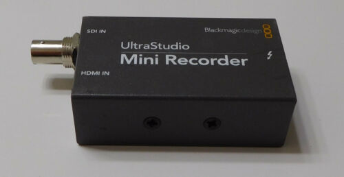 Genuine Blackmagic Design UltraStudio Mini Recorder