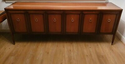 Rare vintage g plan 'Collector By Gomme' walnut sideboard