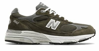 New Balance Male Men's Classic 993 Running Shoes Comfortable Mens 993 Green (Comfortable Green)
