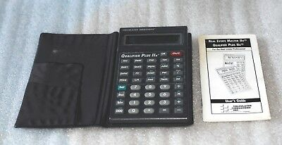 Calculated Industries Qualifier Plus IIx 3125 Financial Calculator