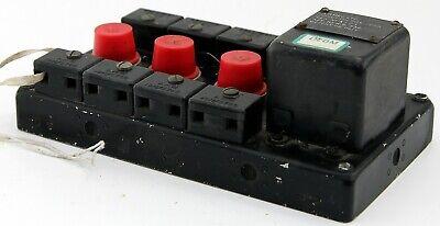 UHF radio junction box assembly for RAF Lightning etc (GD7)