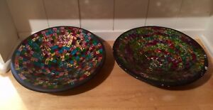 Hand crafted Mosaic Bowls