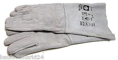 Rothenberger Schweißer-Schutzhandschuhe aus Leder Gr. 10 Schweißer-Handschuhe