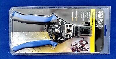 Klein 11063w Katapult Wire Stripper And Cutter For Solidstranded Wire 8-20 Awg