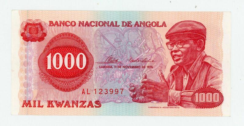 Angola … P-113a … 1.000 Kwanzas … 1976 … *UNC*