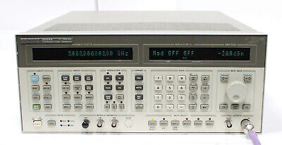 Hp 8664a Synthesized Signal Generator .1 - 3ghz Option 004 Low Noise