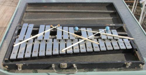 """Deagan Special"" Orchestra Bells - Flat Top Bells-#1558 w/ Two sets of mallets"