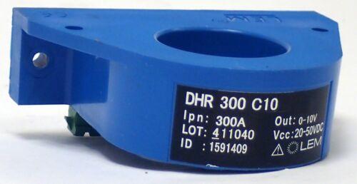 Lem Dhr-300-c10 Ac/dc Current Transducer Input 300a, Output 0-10v, Vcc 20-50vdc