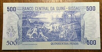 GUINEE BISSAU BILLET DE 500 PESOS (BILL 39)