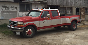 NEXT TO RESTORED 1994-F-350 **PreStroked-7.3turbo**