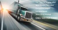 Drivers needed in the Woodstock area- call 519-914-5366