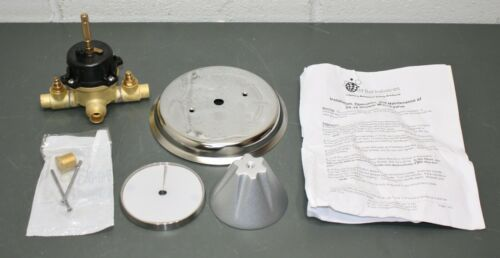 Odd Ball Industries Ligature-Resistant Shower Mixing Valve SP10, Silver