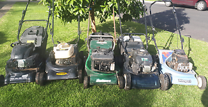 Five Lawn mowers Thornbury Darebin Area Preview