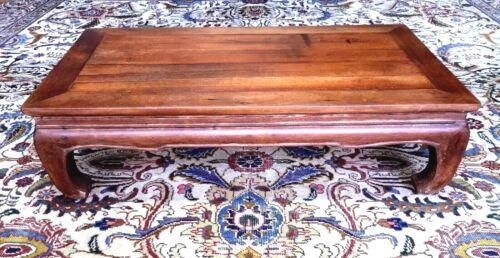 Antique Chinese Hardwood Kang Table Ming period