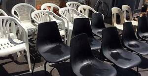 Chairs Mixed Plastic & PVC Beckenham Gosnells Area Preview