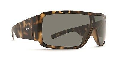NEW Dot Dash Chalube Tortoise  Grey Shield Wrap Mens Sunglasses (Dot Dash Sunglasses)