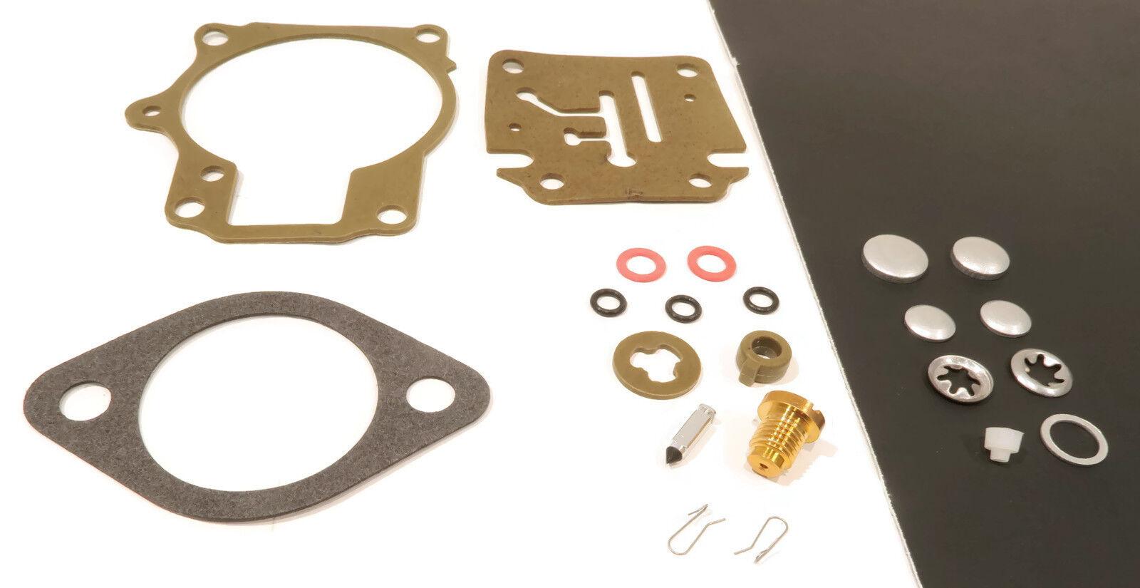 J75TLCTE Carburetor Repair Kit for 1983 Johnson Evinrude J50BELCTA J55RSYN-2
