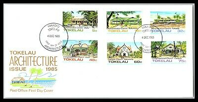 GP GOLDPATH: TOKELAU ISLANDS COVER 1985 FIRST DAY OF ISSUE _CV677_P12