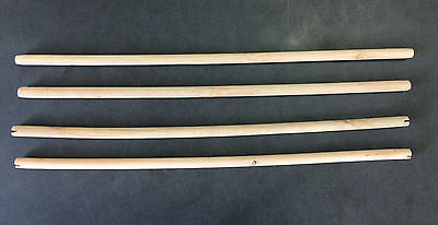 New 24 Inch Wood Perches For Bird Cage Lot of 4 Pcs - 248