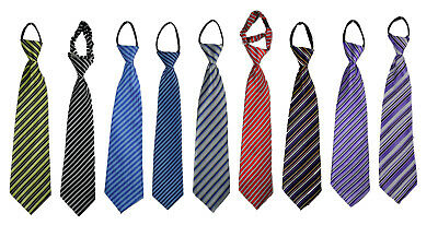 Festliche Krawatte für Jungen Schlips Kinder Krawatte gestreift gebunden Kinder-krawatten