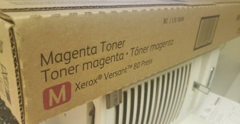 Genuine Xerox Toner Cartridge Versant 80 Press - Magenta