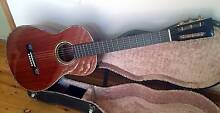 guitar - hand made acoustic parlour martin 1-18 type steel string Marks Point Lake Macquarie Area Preview
