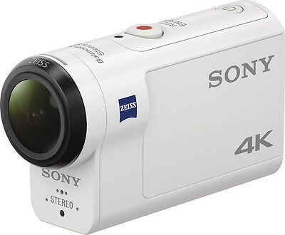 Open-Box: Sony - X3000 4K Waterproof Action Camera - White