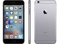 IPhone 6s plus space grey unlocked with charger & box 6 weeks old still Apple warranty