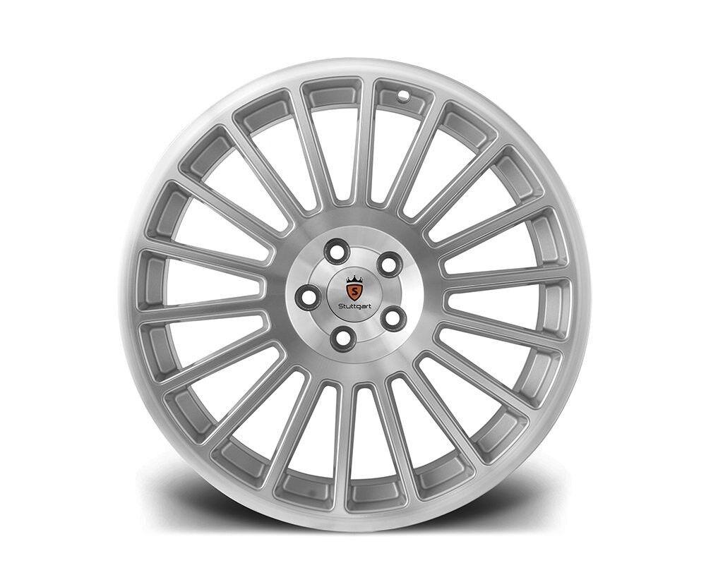 """19"""" Stuttgart ST2 alloy wheels and 215/35/19 tyres 5x112 Vw Audi Seat"""