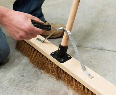 Silverline Broom Head Support Stay 26 - 29mm 1 1/8 Handle Brush Sweeping Bracket
