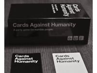Cards against humanity - played once, like new - OUTRAGEOUSLY HILARIOUS