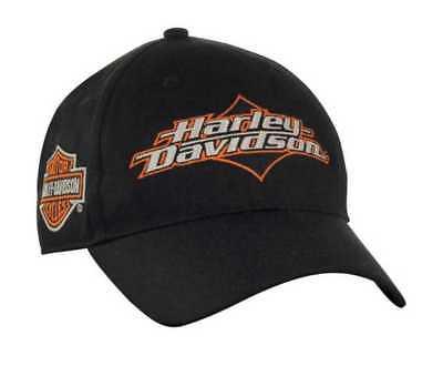 Harley-Davidson Men's Joy Ride Bar & Shield Baseball Cap - Black BC05230