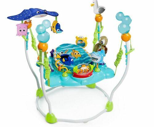 Disney Baby Finding Nemo Sea of Activities Newborn Jumper Bouncer Adjustable Toy