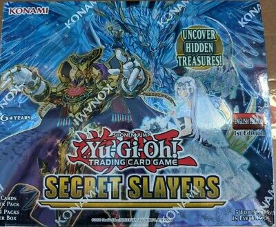 Yu-Gi-Oh! Secret Slayers Booster Box FACTORY SEALED
