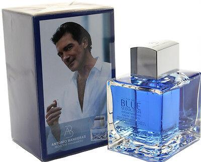 BLUE SEDUCTION BY ANTONIO BANDERAS 3.4/3.3 OZ EDT SPRAY FOR MEN NEW IN BOX