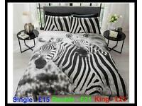 Zebra Duvet Sets