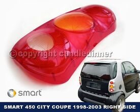SMART REAR LIGHT LENS 450 CITY COUPE 98-03 RIGHT SIDE