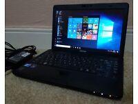 "Excellent Toshiba i3 laptop,13.3""LED Display,Wifi/Webcam/hdmi,4GB RAM,Win 10 64 Bit"