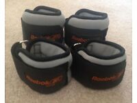 *REEBOK* SET OF ANKLE & WRIST WEIGHTS