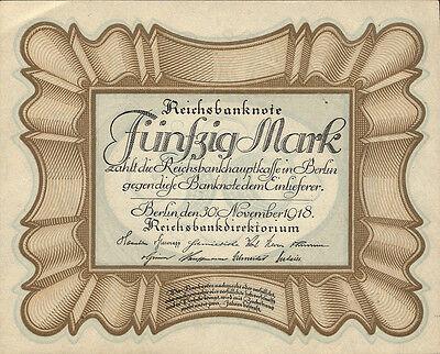 """Ro.057b 50 Mark 1918 """"Eierschein"""" (1)"""