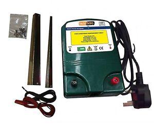 MAINS ELECTRIC FENCE ENERGISER UNIT 230V - HIGH POWER & 2 YEAR WARRANTY!