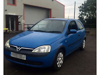 Vauxhall Corsa C 1.0 1 Litre ONLY 64000 MILES! FEB 17 MOT IN EXCELLENT CONDITION BRILLIANT RUNNER