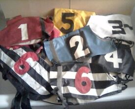 4SALE,9 GREYHOUND RACING JACKETS,£5 THE LOT
