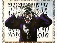 Hand painted Joker canvas