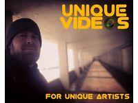 Unique Videos - For Unique Artists & Businesses alike!