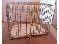 """Ellie-Bo 30"""" Deluxe Dog Crate & mat - Unused - £25"""