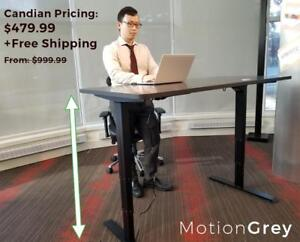 Canadian Based Electronic Standing Desk Company | 50% OFF + Free Shipping | Table Top Included | From 999.99 to 479.99 |