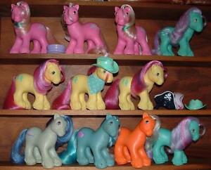 My Little Pony Vintage Big Brother Ponies with accessories